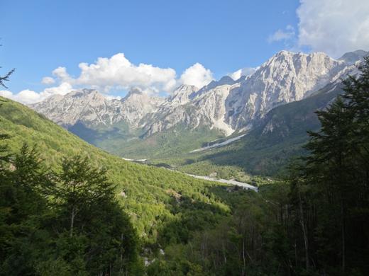 Theth, in het noorden van Albanië