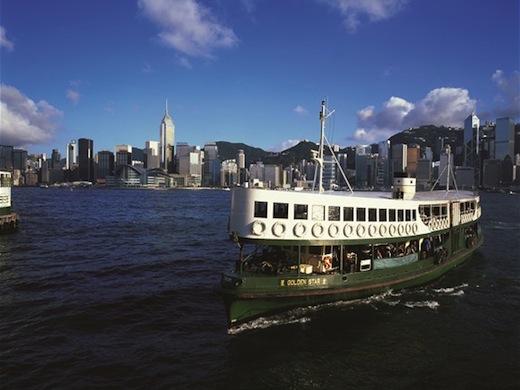 De skyline van Hongkong is één van de mooiste ter wereld.