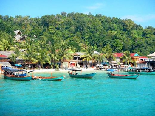 Het paradijselijke eiland Koh Rong.