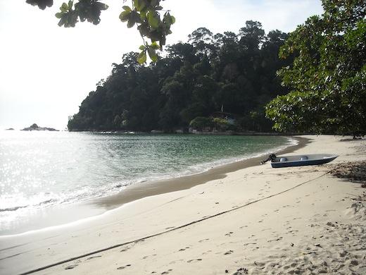 Het eiland Pangkor, in het westen van Maleisië.