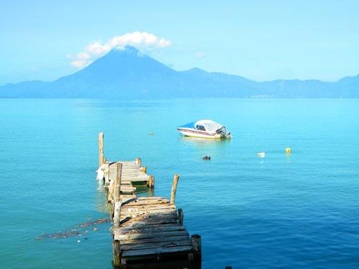 Het Meer van Atitlán.