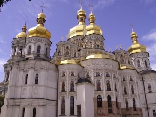 Het Holenklooster in hoofdstad Kiev.