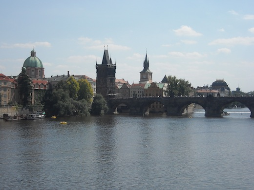 Hoofdstad Praag met haar beroemde Karelsbrug.