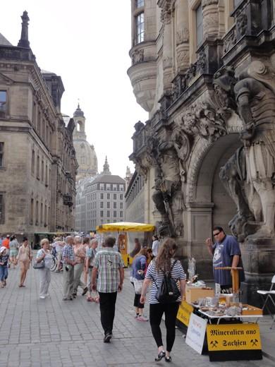 De mooie Schloßplatz.
