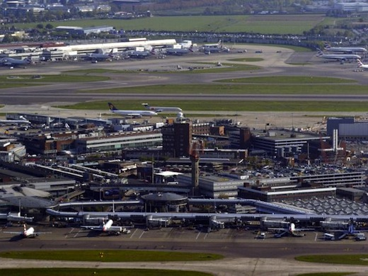 Met 27.878.945 reizigers Europa's drukste luchthaven: London Heathrow (foto: Flickr)