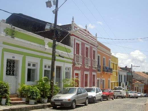 straat in Olinda