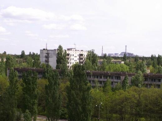 Een laatste blik over Prypjat en Reactor 4.