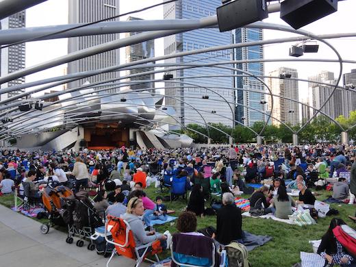 concert millennium park chicago