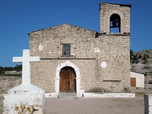 Een oud kerkje in Creel.