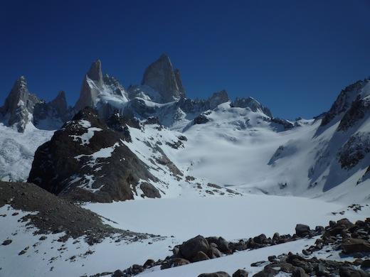 Patagonië in het zuiden van Chili.