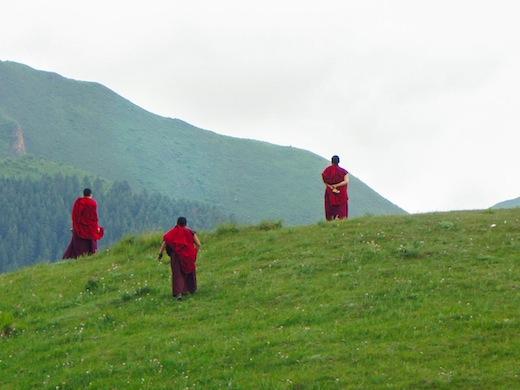 monniken-xiahe-china