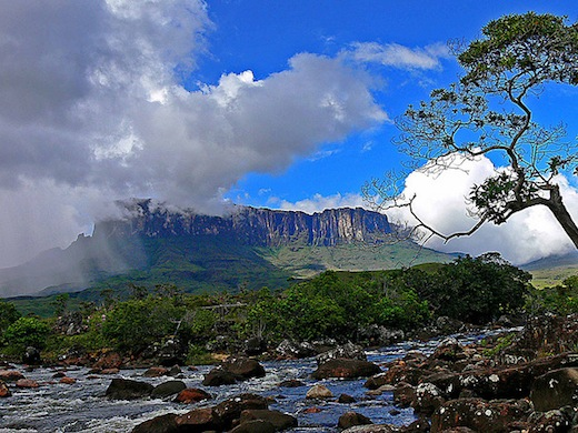De indrukwekkende Roraima (Foto: Giacomo Criscione)