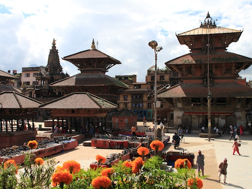 Durbar Square in hoofdstad Kathmandu (Foto: Wikimedia Commons)