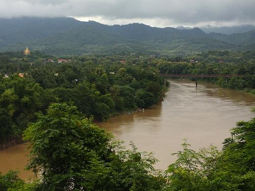 De bosrijke omgeving rond Luang Prabang (Foto: Chang Ju Wu)