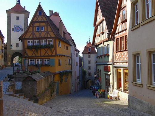 Het Middeleeuwse Rothenburg (Foto: Frank Flanagan
