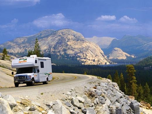 Het westen van de VS is een populaire camperbestemming.