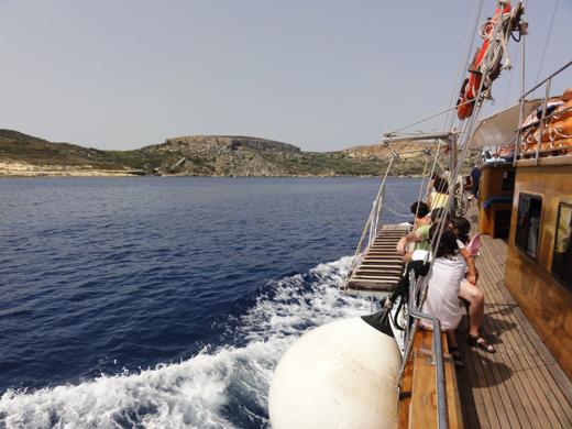 malta comino cruise