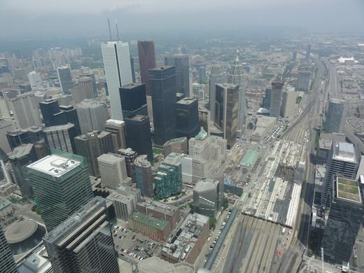 uitzicht CN Tower Toronto